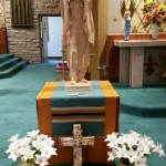 Place of honor for St. Kateri